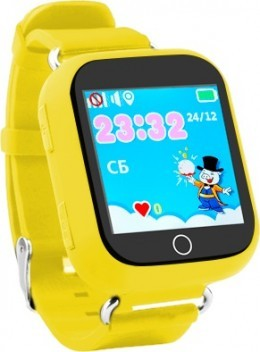 Детские часы Wolnex smart baby watch GW200S желтые (53935)