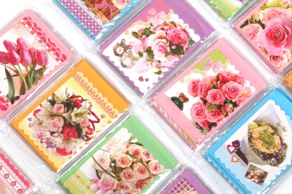 Открытки мая, набор открыток с конвертом