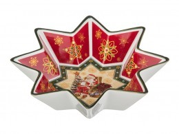 "Салатник ""christmas collection"" диаметр=26 см. Hangzhou Jinding (586-128)"