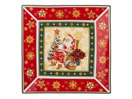 "Блюдо ""christmas collection"" 22*22 см Hangzhou Jinding (586-056)"